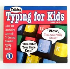 Talking Typing for Kids (PC CD-ROM) Learning Keyboarding Skill Software  NEW