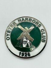 Oyster Harbors Club Osterville, MA Metal Members Golf Ball Marker Coin Mint Rare