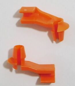 """DODGE PLYMOUTH JEEP CHRYSLER DOOR LATCH ROD CLIPS W/ 1/8"""" RODS L/H"""