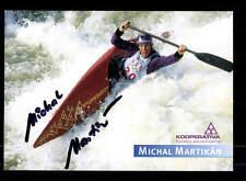 Michal Martikan Autogrammkarte Original Signiert Kanu +A33427