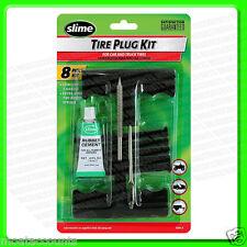 Slime Tire Puncture Plug Kit [24011] T Handled Reamer For Car & LCV Tyre