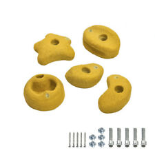 Wickey Mini Climbing stones climbing frame garden playhouse accessories yellow
