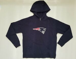 New England Patriots Women's NFL Laces Out Reebok Fleece Sweater Sz Large and XL