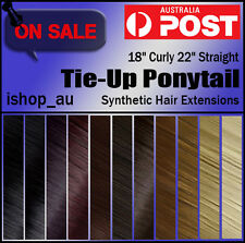 Clip In Pony Tail Hair Extensions Tie Up/Binding Ponytail Hair Extension Piece