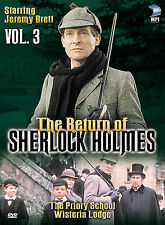 The Return of Sherlock Holmes Vol 3 The Priory School Wisteria... (DVD) - D0326