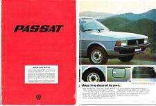 1978 VOLKSWAGEN PASSAT 24 Page German Brochure in English Aus Market