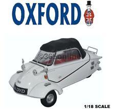 "Oxford Diecast Messerschmitt KR200 Convertible Polar White ""BUBBLE CAR"" 18MBC005"