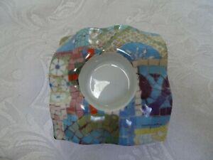 Barcelona Tea Light Holder Art Trencadis - Pretty