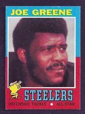 1971 Topps #245 Joe Greene Pittsburgh Steelers EX-MT
