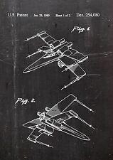 Star wars x-wing brevet art 01. Fine Art-print dans galerie qualité. a4 page 2