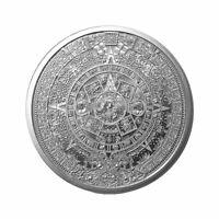 Golden State Mint Aztec Calendar 1 oz Silver Round GEM BU SKU55694