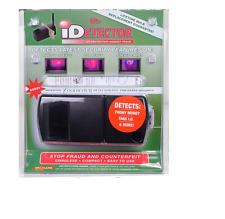 ID Detector With Ultraviolet Light & Dri Mark iDetector Counterfeit Currency