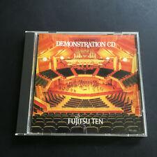 FUJITSU TEN LIMITED 1992 Demonstration CD V.A. JAPAN Promo CD Album Sampler