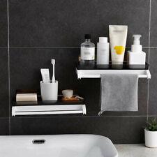 Kitchen Bathroom Wall Mounted Storage Rack Towel Shower Gel Soap Organizer Rack