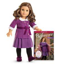 """**NEW** American Girl 'REBECCA' 18"""" Doll and Book - NIB"""