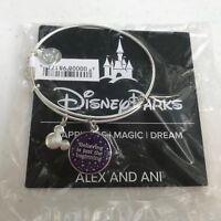 Alex & Ani Believing is just the Beginning Silver Disney Parks Bangle Bracelet