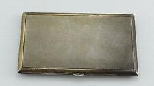 ETUI PORTE CIGARETTE ARGENT 1920 125 GRAMMES GUILLOCHE MINERVE 18 (A122)