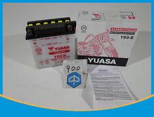 BATTERY YB9-B 12V 9AH NEW YUASA PIAGGIO 138X77X141mm APRILIA SCARABEO