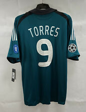 BNWT Liverpool Torres 9 Player Issue Third Shirt 2008/09 (XXL) Adidas A950