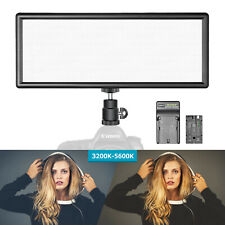 Neewer Studio Super Slim Bi-color Dimmable LED Video Light with LCD Display