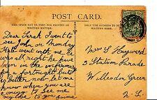 Family History Postcard - Hayward - Willesden Green - London - Ref 1218A