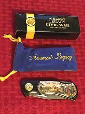 American Legacy Civil War Chancellorsville Collectible Pocket Knife - Lockback