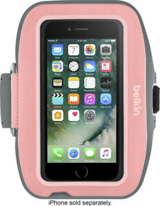 Belkin - Sport-Fit Plus Armband for Apple® iPhone® 7 - Carnation