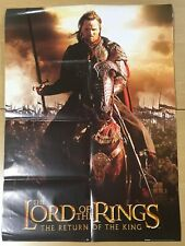 �Fold Type】The Lord of the Rings: The Return of the King (Aragorn) A1 Poster