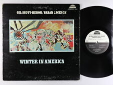 Gil Scott-Heron / Brian Jackson - Winter In America LP - Strata-East