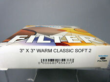 New Schneider Optics Filter 3x3 Warm Classic Soft 2 Tiffen Filters #68-085433