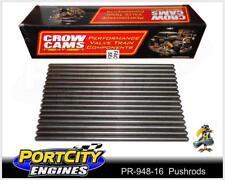 "Superduty Pushrods Set Ford V8 302 Windsor 1969-85 6.900"" .080"" Wall PR-948-16"