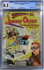 Superman's Pal JIMMY OLSEN 29 CGC 6.5 DC 1958 Scarce Krypto App  Atomic bomb