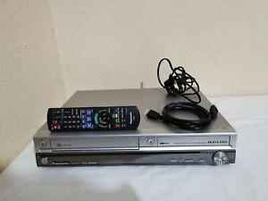 Panasonic DMR-EX95V VHS DVD COMBI FREEVIEW HDMI 250GB HDD Transfers To VHS / DVD