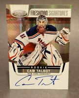 2011-12 Panini Certified #190 Cam Talbot On Card Autograph RC Rookie
