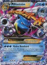 Mega Blastoise EX 30/146 MCMB Rare Holo Mint Pokemon Card
