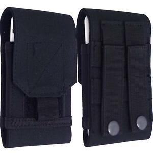 Hip Case Cover Belt Loop Holster Black Pouch For Samsung Galaxy Phones