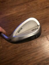 LADIES PING GLIDE GORGE 56' SAND WEDGE, GOLD DOT, PING ULT220 GRAPHITE SHAFT