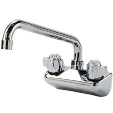 """Regency Low Lead Wall Mount Bar Sink Faucet with 4"""" Centers and 10"""" Swing Spout"""