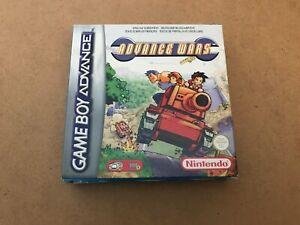 Advance Wars - Gameboy Advance - Box Only