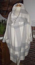 Burberry noble abrigo poncho Cape stretchwolle + cachemira talla 40 - 42 o. l de lujo