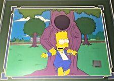 "Simpsons Original Production cel ""Bart's Girlfriend"" season 6 animation Framed"