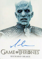 Game of Thrones Season 6 FB Autograph Card Richard Brake as Night King