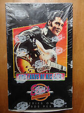 ✦ Elvis Presley Cards of his Life Factory Sealed Box ✦