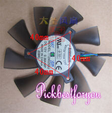 ASUS GTX680 HD7950 HD7970 Single Fan 40mm 4Pin T129025SU 0.38A #M2655 QL
