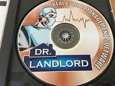 Dr. Landlord Real Estate Management Software On CD - BRONZE EDITION!  BRAND NEW!