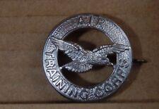 Air Training Corps Cap Badge Staybrite  Genuine 1980's 4.10, 3.16