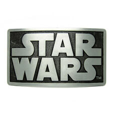 Square Star Wars Logo Belt Buckle Science Fiction Film