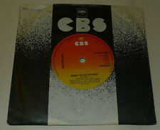 """BOB DYLAN 7"""" BABY STOP CRYING 1978 EXCL SCBS6499"""