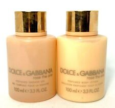 Dolce & Gabbana Rose The One Perfumed Shower Gel & Lotion Duo ~ 3.3 oz/ea ~
