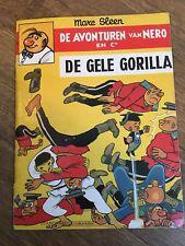 Marc Sleen Comic - De Gele Gorilla (1979 publication) - Flemish